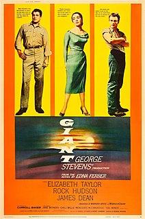 <i>Giant</i> (1956 film) 1956 American film directed by George Stevens
