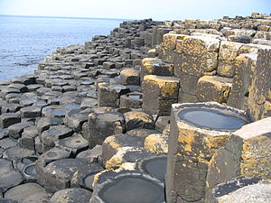 Français : Giants Causeway cellules polygonales