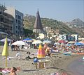 Giardini naxos beach august 2012.JPG