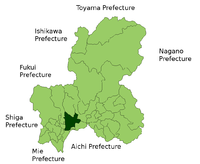 Gifu in Gifu Prefecture.png