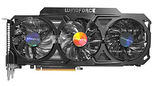 GeForce 700 series - A Gigabyte GTX770 graphics card