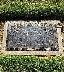 Ginger Rogers Grave.JPG