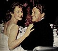 Ginny Mayo with Mike O'Shea, 1955.jpg