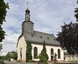Ginsheim-Gustavsburg - Ginsheim Evangelic church