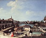 Giovanni Antonio Canal, il Canaletto - Dolo on the Brenta - WGA03898.jpg