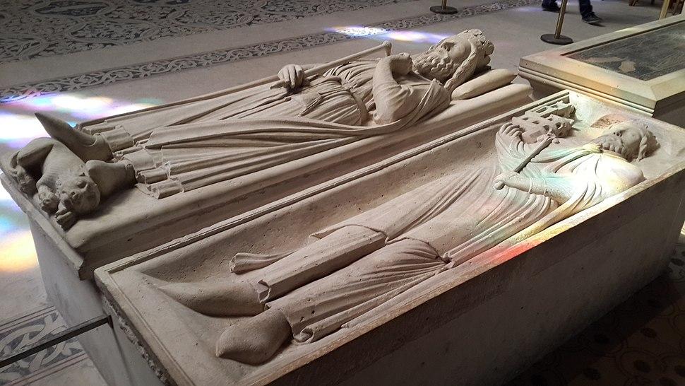 Gisant de Clovis Ier-Burials at the Basilica of St Denis
