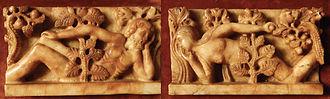 Gislebertus - Image: Giseklbertus Adam & Eve Alabaster for wiki