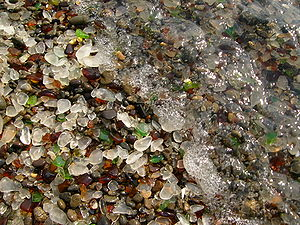 Fort Bragg, California - Glass Beach in Fort Bragg