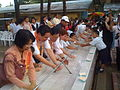 Global Handwashing Day 2008 celebrations with celebrities at City Central School (Cagayan de Oro) (3171506141).jpg