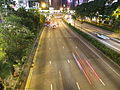 Gloucester Road at night.JPG