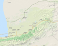 Golestan Province relief OpenStreetMap.PNG