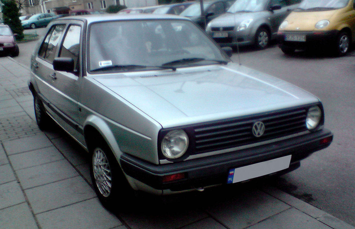 Volkswagen Golf Ii  U2014  U0412 U0438 U043a U0438 U043f U0435 U0434 U0438 U044f