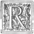 Good Newes from New England - Illuminated Initial - R.png