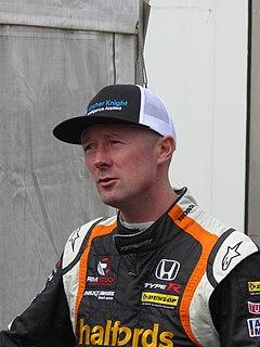 Gordon Shedden British auto racing driver (born 1979)
