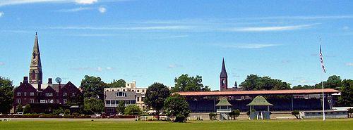 Goshen, NY, skyline from Historic Track