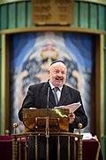 Grand-rabbin René Gutman 36e rencontres internationales de Taizé Strasbourg 29 décembre 2013 13.jpg