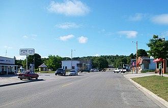 Grand Marais, Michigan - Community of Grand Marais along M-77