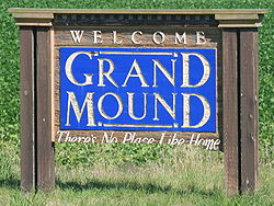 Grand Mound Iowa 20090712 Welcome Sign.JPG