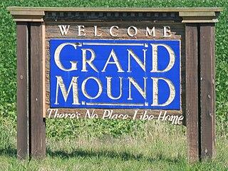 Grand Mound, Iowa City in Iowa, United States