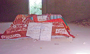 Hoshu Sheedi - Grave of Hosh Mohammad Sheedi