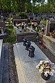 Grave of Piotr Bikont (Polish journalist), Rakowice Cemetery, 26 Rakowicka street, Krakow, Poland.jpg