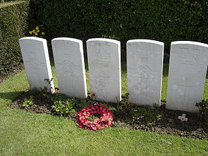 - the grave in communal cemetery