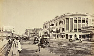Great Eastern Hotel (Kolkata) - The Great Eastern Hotel Calcutta in 1865