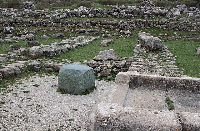 La Piedra Verde de Hattusas. Imperio Hitita (Mesopotamia)