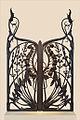 Grille art nouveau du ferronnier Emile Robert (musée de lEcole de Nancy) (8017226645).jpg