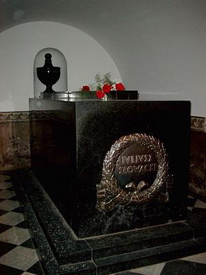 Juliusz Słowacki - Tomb, Wawel Cathedral, Kraków