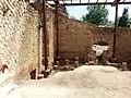 Grumentum, terme imperiali. Tepidarium, particolare del pavimento a suspensurae.jpg