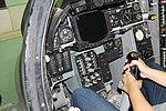 Grumman A-6A Simulator, Pilots controls and instruments, Oakland Aviation Museum, Oakland (6091230677).jpg