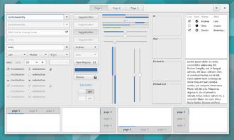 GTK+ - Image: Gtk 3 widget factory 3.16.0