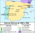 Guèrra Ibericas de 1640 a 1668.png