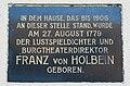GuentherZ 2011-02-05 0086 Zistersdorf Stadtamt Gedenktafel Franz Holbein.jpg