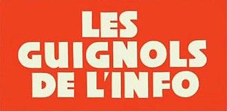 Les Guignols - Image: Guignols logo 1992