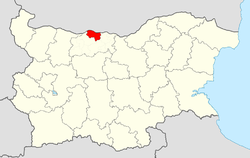 Gulyantsi Municipality within Bulgaria and Pleven Province.