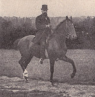 Gustave Le Bon - Gustave Le Bon on horseback