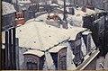 Gustave caillebotte, veduta di tetti (effetto della neve), 1878, 02.JPG