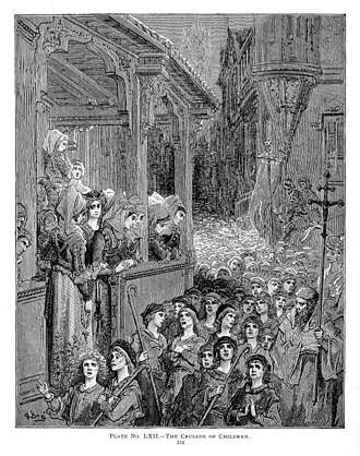 Children's Crusade - The Children's Crusade, by Gustave Doré
