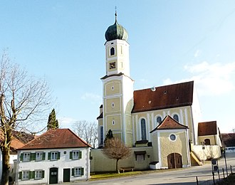 Oberostendorf - Parish Church of Saint Margaret in Gutenberg