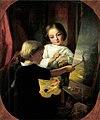 Györgyi The little Painter 1853.jpg