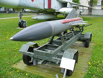 Kh-58 - Kh-58U in the Ukrainian Air Force Museum