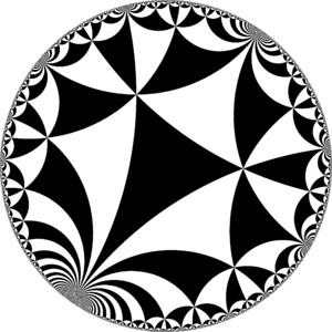 Truncated infinite-order square tiling - Image: H2checkers 44i