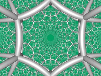Paracompact uniform honeycombs - Image: H3 634 FC boundary