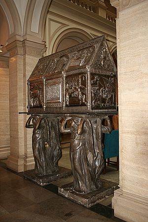 Chest of Saint Simeon - A replica of the chest as seen in the Croatian Academy of Sciences and Arts