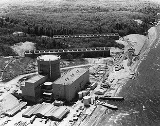 Palisades Nuclear Generating Station - Palisades Power Plant in 1974
