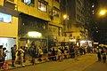 HK 上環 Sheung Wan 差館上街 Upper Station Street night 太平山街 Tai Ping Shan Street 觀音堂 Kwun Yum Tong Temple 觀音借庫 Kwun Yum Treasury Opening Festival March 2019 IX2 16.jpg
