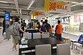 HK 銅鑼灣 CWB 宜家家居 IKEA shop table n visitors n sales sign July 2017 IX1.jpg