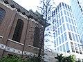 HK CWB Summer 銅鑼灣道 Tung Lo Wan Road 聖馬利亞堂 St Mary's Church St Paul's Hospital facade.JPG